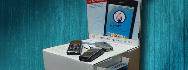 Handy-Aktion NRW Sammelbox