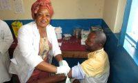 Untersuchung in der DR Kongo