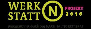 LOGO Nachhaltigkeit WERKSTATT N Projekt 2016